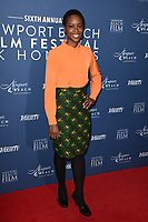Tracy Ifeachor<br /> arriving for the Newport Beach Film Festival UK Honours 2020, London.<br /> <br /> ©Ash Knotek  D3551 29/01/2020