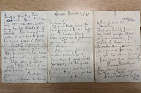 BNPS.co.uk (01202 558833)<br /> Pic: Weldmar/BNPS<br /> <br /> PICTURED: A remarkable letter by Florence Nightingale that sets out her vision for community nursing has been found 122 years later during a house clearance.<br /> <br /> The letter was written by the heroine of nursing in 1897 and was her polite refusal to an invitation to an event she couldn't attend as she was ill. <br /> <br /> In it she talks about training up of nurses to go out into the community and tend to both sick children and the elderly nearing the end of their lives.