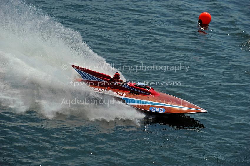 "Marom Hart, 222 ""Candiana Grand Prix"" (Grand Prix class hydroplane)"