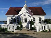 Our Lady of Holy Hope Catholic Church, Castine, Maine, US