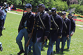 Parcicipants were transported back in time to the 1869 Battle of Nashville Saturday afternoon as the DuSable Museum hosted the 2nd annual Civil War Family Day in Washington Park.<br /> <br /> Union troops marched.