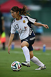 Ayu Nakada (INAC),<br /> AUGUST 17,2014 - Football / Soccer : 2014 Nadeshiko League, between Urawa Reds Ladies 0-1 INAC KOBE LEONESSA at Urawakomaba Stadium, Saitama, Japan. (Photo by Jun Tsukida/AFLO SPORT)