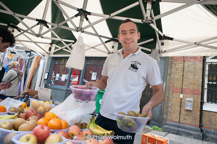 Camden Council launches revamped Chalton Street market.