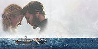 Adrift (2018)<br /> Promotional art with Shailene Woodley &amp; Sam Claflin<br /> *Filmstill - Editorial Use Only*<br /> CAP/MFS<br /> Image supplied by Capital Pictures