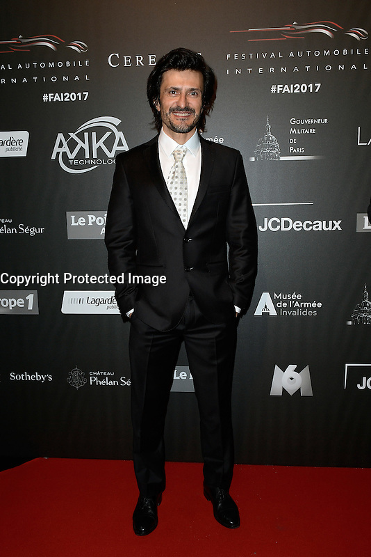 Stephane ORTELLI (pilote automobile champion du monde GT) - Soiree des grands prix du Festival Automobile International - 31 janvier 2017 - Paris - FRANCE