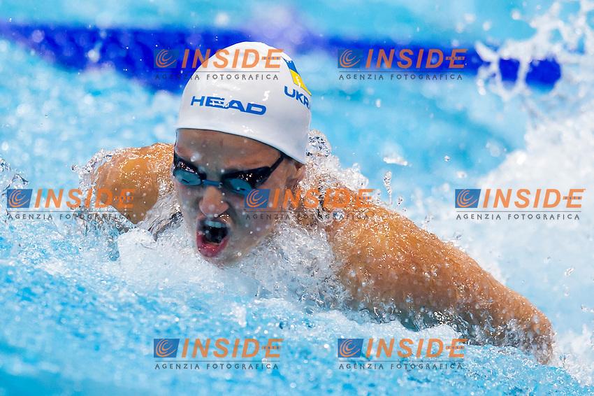 STEPANYUK Dar'ya UKR<br /> London, Queen Elizabeth II Olympic Park Pool <br /> LEN 2016 European Aquatics Elite Championships <br /> Swimming<br /> Women's 100m butterfly semifinal  <br /> Day 11 19-05-2016<br /> Photo Giorgio Perottino/Deepbluemedia/Insidefoto