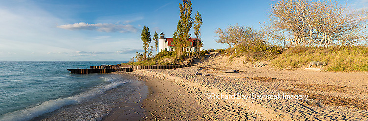 64795-01405 Point Betsie Lighthouse on Lake Michigan, Benzie County, Frankfort, MI