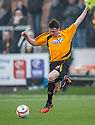 Alloa's Calum Gallagher.