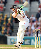 Kevin Pietersen of England - England vs Australia - 5th day of the 5th Investec Ashes Test match at The Kia Oval, London - 25/08/13 - MANDATORY CREDIT: Rob Newell/TGSPHOTO - Self billing applies where appropriate - 0845 094 6026 - contact@tgsphoto.co.uk - NO UNPAID USE