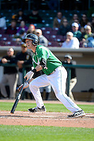 Dayton Dragons shortstop Zach Vincej #4 during a game against the Bowling Green Hot Rods on April 21, 2013 at Fifth Third Field in Dayton, Ohio.  Bowling Green defeated Dayton 7-5.  (Mike Janes/Four Seam Images)