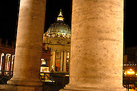 St. Peter's Basillica, Rome, August, 2004.