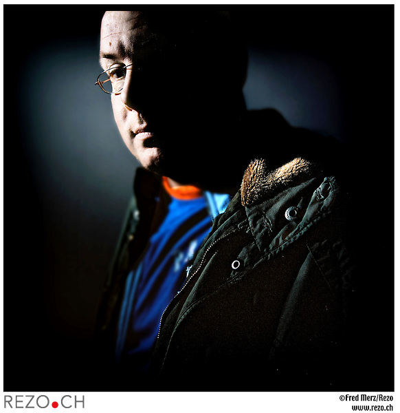 FM03159 / Nick Leeson, ex-trader qui a fait couler la Barings Bank en 1995 par ses speculations hasardeuses...Galway, Irlande, Mars 2005..©Fred Merz/Rezo....
