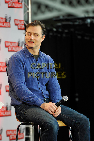 LONDON, ENGLAND - FEBRUARY 21: David Morrissey attending 'Walker Stalker Con 2015' at Olympia in London on February 21, 2016 in London, England.<br /> CAP/MAR<br /> &copy; Martin Harris/Capital Pictures