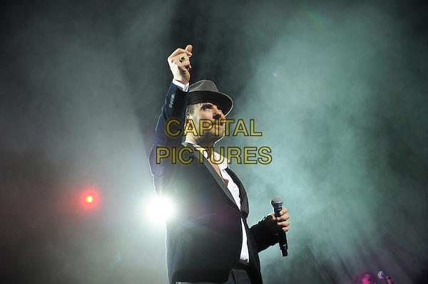 LONDON, ENGLAND - JANUARY 25: Matt Goss performing at the London Palladium on January 25, 2015 in London, England.<br /> CAP/MAR<br /> &copy; Martin Harris/Capital Pictures
