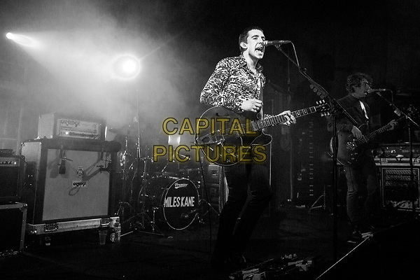 CAMBRIDGE, ENGLAND - MARCH  30: English musician, Miles Kane, better known as the lead singer of The Last Shadow Puppets plays The Junction, Cambridge, as part of his 2014 Spring tou on March 30, 2014 in Cambridge, England.<br /> CAP/PP/MM<br /> &copy;MM/PPCapital Pictures