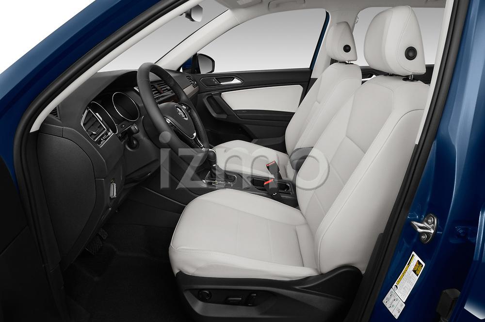 Front seat view of a 2019 Volkswagen Tiguan SE 5 Door SUV front seat car photos