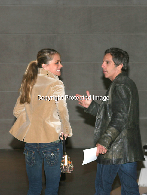 Ben Stiller &amp; Christine Taylor<br />Miramax Films Presents &quot;Finding Neverland&quot; Premiere Sponsored by Coors Light and <br />Harper's Bazaar<br />The Brooklyn Museum<br />Brooklyn, N Y, USA<br />Monday, October 25, 2004<br />Photo By Selma Fonseca/Celebrityvibe.com/Photovibe.com, <br />New York, USA, <br />Phone 212 410 5354, email:sales@celebrityvibe.com