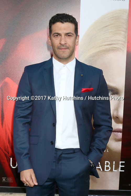 """LOS ANGELES - APR 18:  Simon Kassianides at the """"Unforgettable"""" Premiere at TCL Chinese Theater IMAX on April 18, 2017 in Los Angeles, CA"""