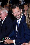 18.09.2012. Prince Felipe of Spain and Princess Letizia of Spain attend  the inauguration of the 50th anniversary of the ´Circulo de Lectores´ in the  Cultural Center Circulo de Lectores  of Madrid. In the image Prince Felipe of Spain (Alterphotos/Marta Gonzalez)