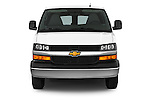 Car photography straight front view of a 2014 Chevrolet Express 2500 LS 2 Door Van