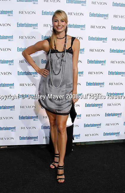 BEVERLY HILLS, CA. - September 20: Stacy Keibler arrives at Entertainment Weekly's 6th annual pre-Emmy celebration presented by Revlon at the Historic Beverly Hills Post Office on September 20, 2008 in Beverly Hills, California.