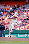 19 May 2007: Baltimore Orioles starting pitcher Jeremy Guthrie in action against the Washington Nationals at RFK Stadium in Washington, DC. The Orioles defeated the Nationals 3-2 in the second game of the 3-game interleague series...Mandatory Photo Credit: Ed Wolfstein Photo