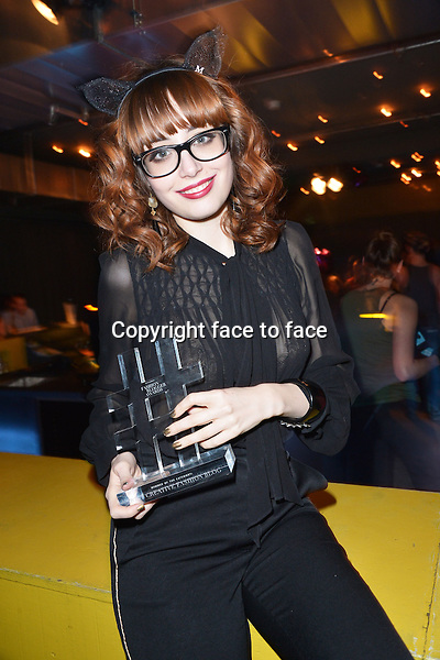 Miss Pandora (winner of Most Creative Fashion Blog) attending the STYLIGHT Fashion Blogger Awards after show party during the Mercedes-Benz Fashion Week Autumn/Winter 2013/14 Berlin in Berlin 13.01.2014. Credit Timm/face to face