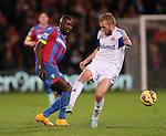Crystal Palace's Yannick Bolasie tussles with Sunderland's Sebastian Larsson<br /> <br /> - Barclays Premier League - Crystal Palace vs Sunderland- Selhurst Park - London - England - 3rd November 2014  - Picture David Klein/Sportimage