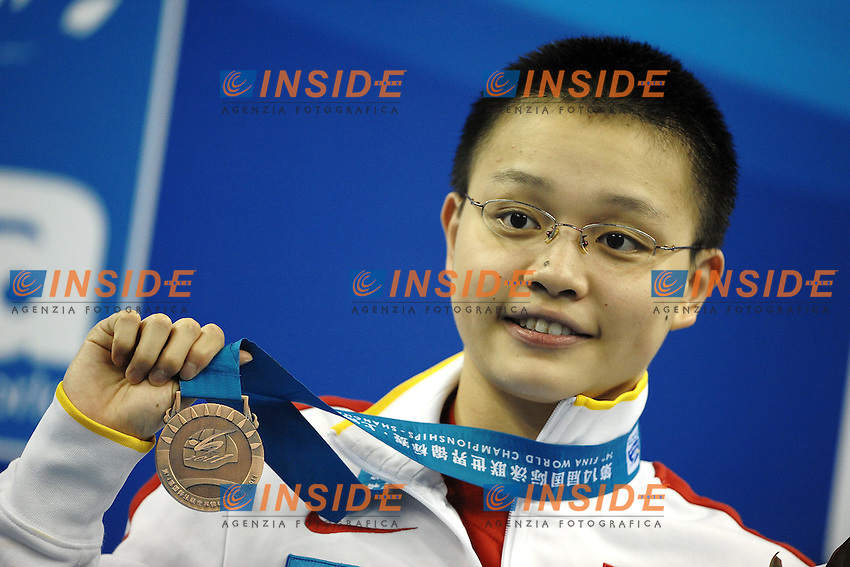 LI Xuanxu CHINA Bronze medal.Women's 1500m Freestyle - Swimming / Nuoto.Shanghai 26/7/2011 .14th FINA World Championships.Foto Andrea Staccioli Insidefoto