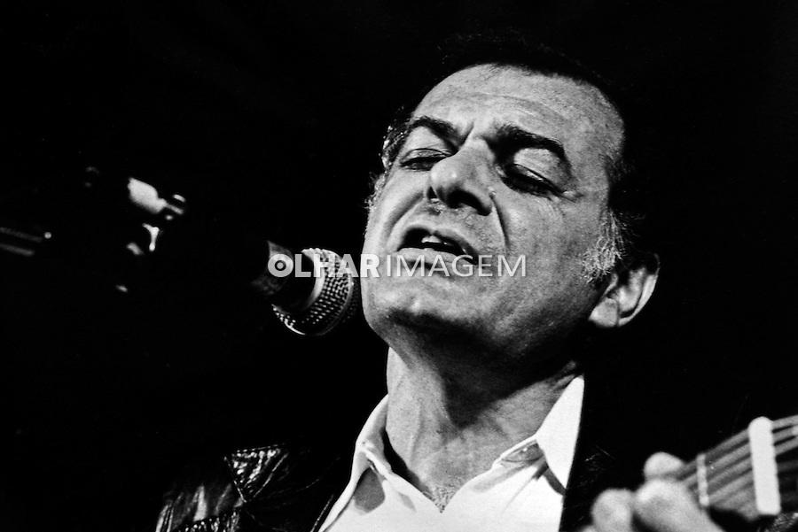 Pessoa. Personalidade. Sergio Ricardo, cantor e compositor. SP. 1977. Foto de Juca Martins.