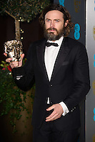 Casey Affleck at the 2017 EE British Academy Film Awards (BAFTA) After-Party held at the Grosvenor House Hotel, London, UK. <br /> 12 February  2017<br /> Picture: Steve Vas/Featureflash/SilverHub 0208 004 5359 sales@silverhubmedia.com