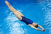 Anastasiia Nedobiga UKR<br /> <br /> 3m Springboard Women preliminary<br /> <br /> Day 06 14/06/2015  <br /> <br /> 2015 Arena European Diving Championships<br /> <br /> Neptun Schwimmhalle<br /> <br /> Rostock Germany 09-14 June 2015 <br /> <br /> Photo Giorgio Perottino/Deepbluemedia/Insidefoto
