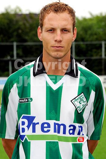GENEMUIDEN -  presentatie selectie SC Genemuiden, topklasse zaterdag seizoen 2011-2012 25-06-2012 Berry Halfwerk