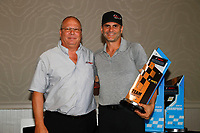 Championship team owner Garrett Kletjian with Todd Snyder of IMSA