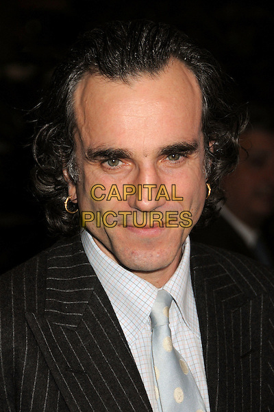 DANIEL DAY-LEWIS.33rd Annual Los Angeles Film Critics Association Awards at the InterContinental Hotel, Century City, California, USA, 12 January 2008..portrait headshot  Day Lewis long hair earrings.CAP/ADM/BP.©Byron Purvis/AdMedia/Capital Pictures.