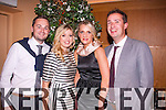 Driving on<br /> ------------<br /> Attending the Tralee Golf Club Captains Dinner in the Ballyroe Hotel last Saturday night were L-R Fergul O'Sullivan,Sarah Mulcahy,Susanne &amp;Mike Sheehy