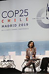 Ana Patricia Botín CEO of Banco Santander during the nineth day of COP25 in IFEMA Madrid on Dec 11, 2019 (ALTERPHOTOS/Manu R.B.)
