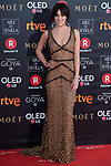 Macarena Garcia attends red carpet of Goya Cinema Awards 2018 at Madrid Marriott Auditorium in Madrid , Spain. February 03, 2018. (ALTERPHOTOS/Borja B.Hojas)