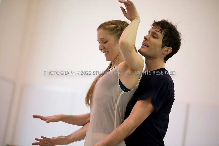 1/17/2013--SEATTLE, WA, USA..Carla Korbes, 31, the a principal dancer with the Pacific Northwest Ballet in Seattle,WASH. Korbes is currently rehearsing for a performance of Romeo and Juliet...Here she performs with Seth Orza , 31, originally from San Francisco...©2013 Stuart isett. All rights reserved.