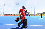 Leon Hayward during the Pro League Hockey match between the Blacksticks men and the Argentina, Nga Punawai, Christchurch, New Zealand, Sunday 1 March 2020. Photo: Simon Watts/www.bwmedia.co.nz