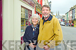 Budget Busters Listowel - Joan and Damian Stack of Stacks Furniture and Carpets Listowel.  People should shop in Listowel because you are supporting local business to keep the economy going because the Government is not doing its job