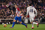 Saul Niguez Esclapez of Atletico de Madrid in action during their La Liga match between Atletico de Madrid and Real Madrid at the Vicente Calderón Stadium on 19 November 2016 in Madrid, Spain. Photo by Diego Gonzalez Souto / Power Sport Images