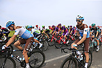 The peloton just after Km0 the start of Stage 4 of La Vuelta 2019 running 175.5km from Cullera to El Puig, Spain. 27th August 2019.<br /> Picture: Eoin Clarke | Cyclefile<br /> <br /> All photos usage must carry mandatory copyright credit (© Cyclefile | Eoin Clarke)
