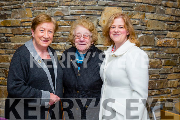at the Tralee Musical Society's production of 'That's Entertainment' in Siamsa Tire on Thursdayl-r  Adrianne Young, Causeway, Margaret O'Donoghue, Causeway and Norma O'Donoghue, Causeway.
