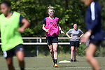 CARY, NC - APRIL 20: Samantha Mewis. The North Carolina Courage held a training session on April 20, 2017, at WakeMed Soccer Park Field 7 in Cary, NC.