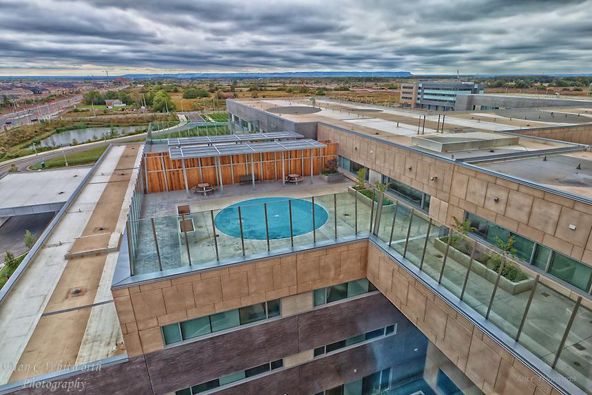 Oakville Trafalgar Memorial Hospital west view.