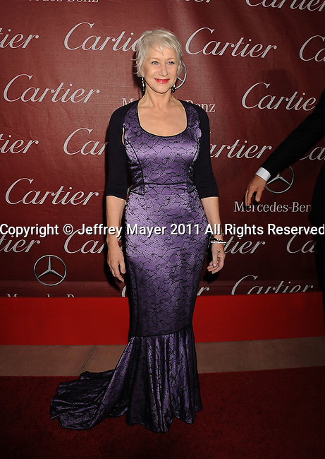 PALM SPRINGS, CA - January 08: Helen Mirren attends the 22nd Annual Palm Springs International Film Festival Awards Gala at Palm Springs Convention Center on January 8, 2011 in Palm Springs, California.