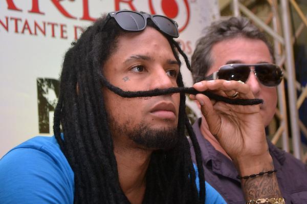 Rueda de prensa, en la que Vakero anuncio su tours de concierto a realizarse en la Guacara Taína..Foto: Ariel Díaz-Alejo/acento.com.do.Fecha: 11/10/2012.