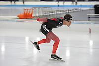 SCHAATSEN: HEERENVEEN: IJsstadion Thialf, 06-12-2016, ISU World Cup-training, KC Boutiette (USA), ©foto Martin de Jong