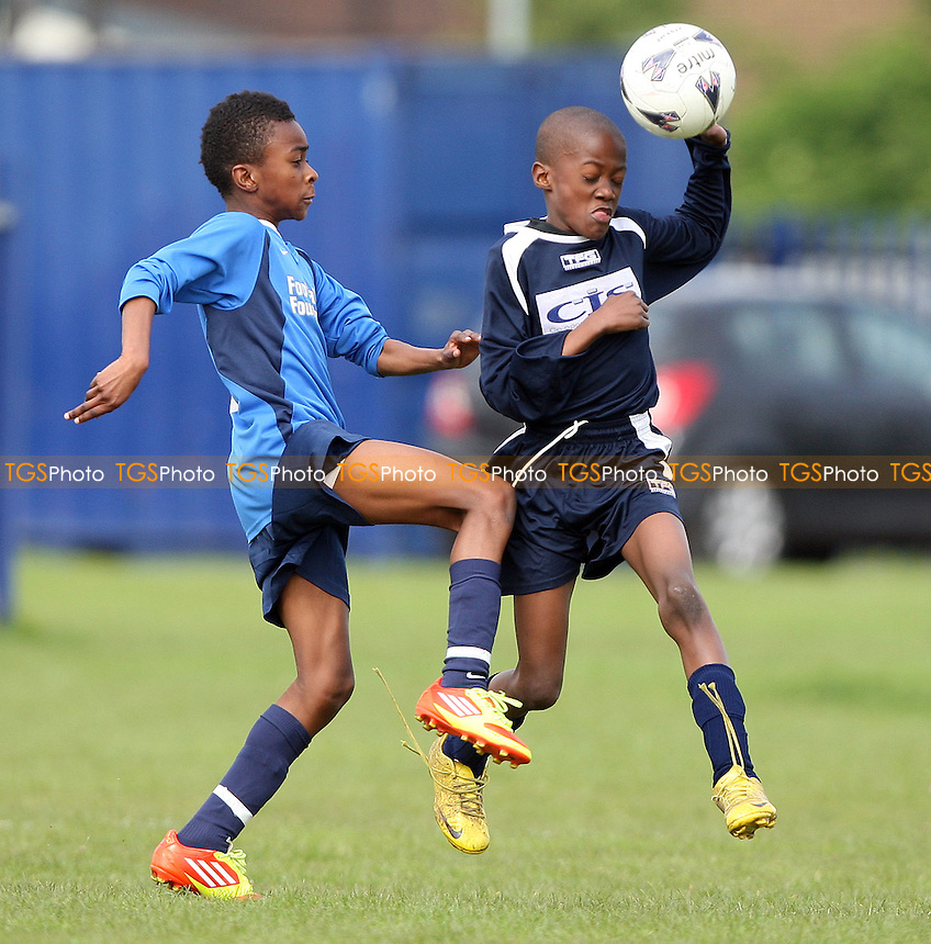 - St Margaret's School vs William Bellamy School, Dagenham Post U11 Cup Final at Thames View Junior School, Barking - 17/05/12 - MANDATORY CREDIT: Rob Newell/TGSPHOTO - Self billing applies where appropriate - 0845 094 6026 - contact@tgsphoto.co.uk - NO UNPAID USE..